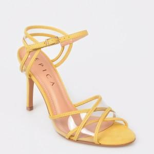 Sandale EPICA MADE IN BRAZIL galbene, 3081054, din PVC