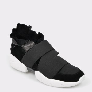 Pantofi sport GRYXX negri, Mk1071, din material textil
