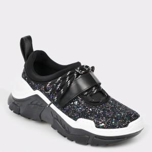 Pantofi sport GRYXX negri, Mk1089, din piele ecologica