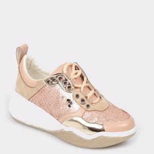 Pantofi sport GRYXX bej, Mo721, din piele ecologica