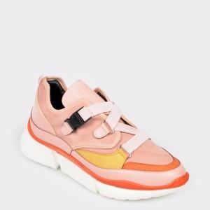 Pantofi GRYXX roz, Mo78, din piele ecologica