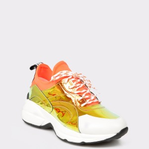 Pantofi sport GRYXX portocalii, 1, din piele ecologica