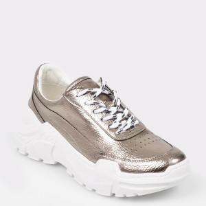 Pantofi sport GRYXX gri, Mk1086, din piele ecologica
