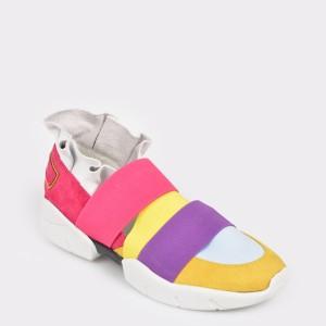 Pantofi GRYXX multicolori, Mk1071, din piele ecologica