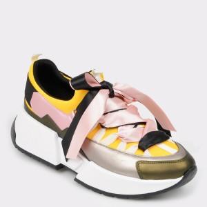Pantofi sport GRYXX multicolori, Mk1051, din piele ecologica