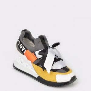 Pantofi GRYXX gri, Mk88S19, din piele ecologica