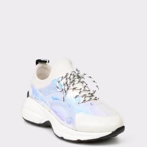 Pantofi sport GRYXX albi, 1, din piele ecologica