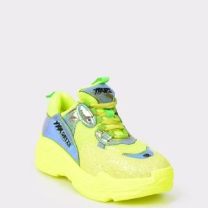 Pantofi sport GRYXX verzi, 1, din piele ecologica