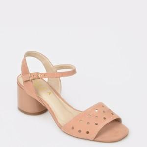 Sandale EPICA MADE IN BRAZIL bej, 8878516, din nabuc