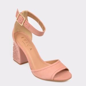 Sandale EPICA MADE IN BRAZIL roz, Malu, din nabuc