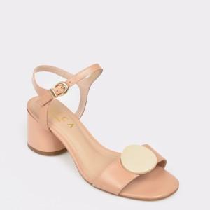 Sandale EPICA MADE IN BRAZIL bej, 8884516, din piele naturala