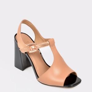 Sandale EPICA MADE IN BRAZIL bej, Giane, din piele naturala