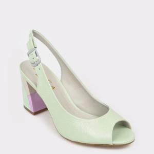 Sandale EPICA MADE IN BRAZIL verzi, 7089349, din piele naturala
