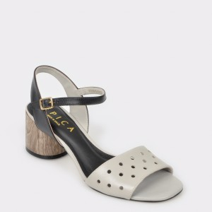 Sandale EPICA MADE IN BRAZIL gri, 8878516, din piele naturala