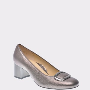 Pantofi Ara Aurii, 35548, Din Piele Naturala