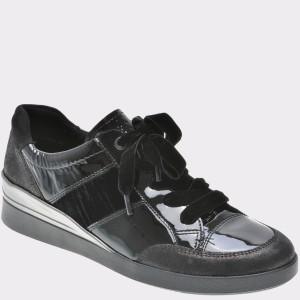 Pantofi ARA negri, 43374, din piele ecologica