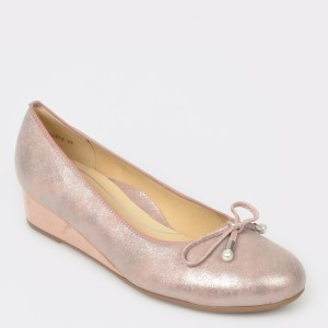Pantofi ARA roz, 14314, din piele intoarsa