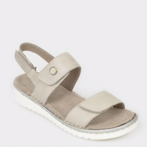 Sandale ARA gri, 27226, din piele naturala