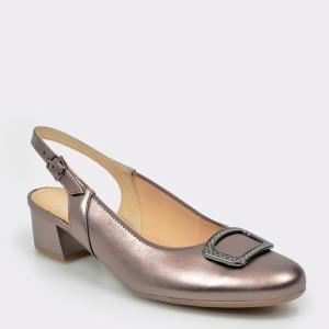 Pantofi ARA aurii, 35865, din piele naturala