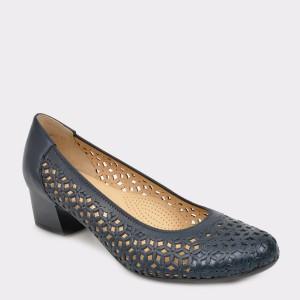 Pantofi ARA bleumarin, 35862, din piele naturala
