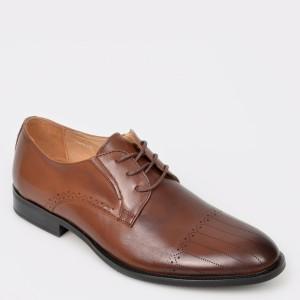Pantofi OTTER maro, 8101702, din piele naturala