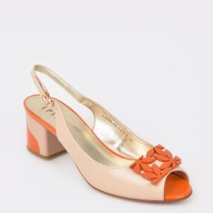 Sandale EPICA bej, Lh331H, din piele naturala
