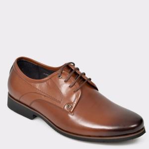 Pantofi OTTER maro, 1, din piele naturala