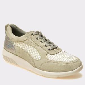 Pantofi Sport Trivict Gri, S17114, Din Piele Ecologica