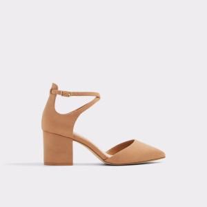 Pantofi ALDO maro, Brookshear, din material textil