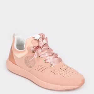 Pantofi BUGATTI roz, 62660, din piele ecologica