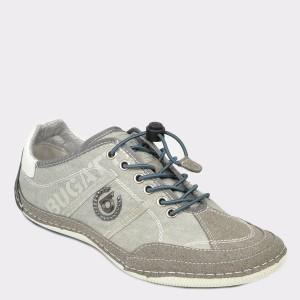 Pantofi sport BUGATTI gri, 48003, din material textil