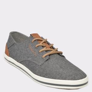 Pantofi BUGATTI gri, 50205, din material textil