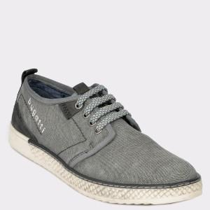 Pantofi BUGATTI gri, 68902, din material textil