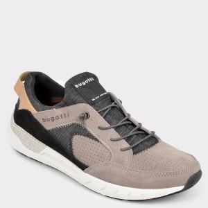 Pantofi sport BUGATTI gri, 65460, din material textil