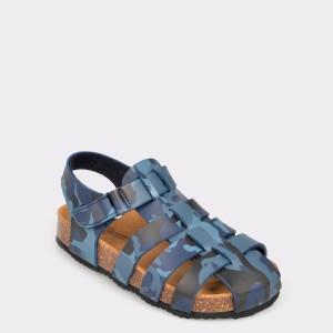 Sandale LA COMPANIA NATURAL bleumarin, 7561302, din piele ecologica