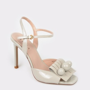Sandale EPICA gri, Ye21702, din piele naturala lacuita
