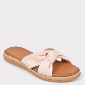 Papuci FLAVIA PASSINI nude, 261, din piele naturala