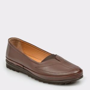 Pantofi Flavia Passini Maro, 82536, Din Piele Naturala