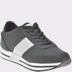 Pantofi sport CALVIN KLEIN negri, Se8592, din piele ecologica