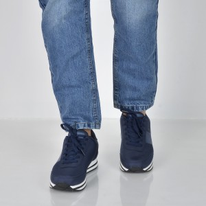 Pantofi sport CALVIN KLEIN bleumarin, Se8592, din piele ecologica