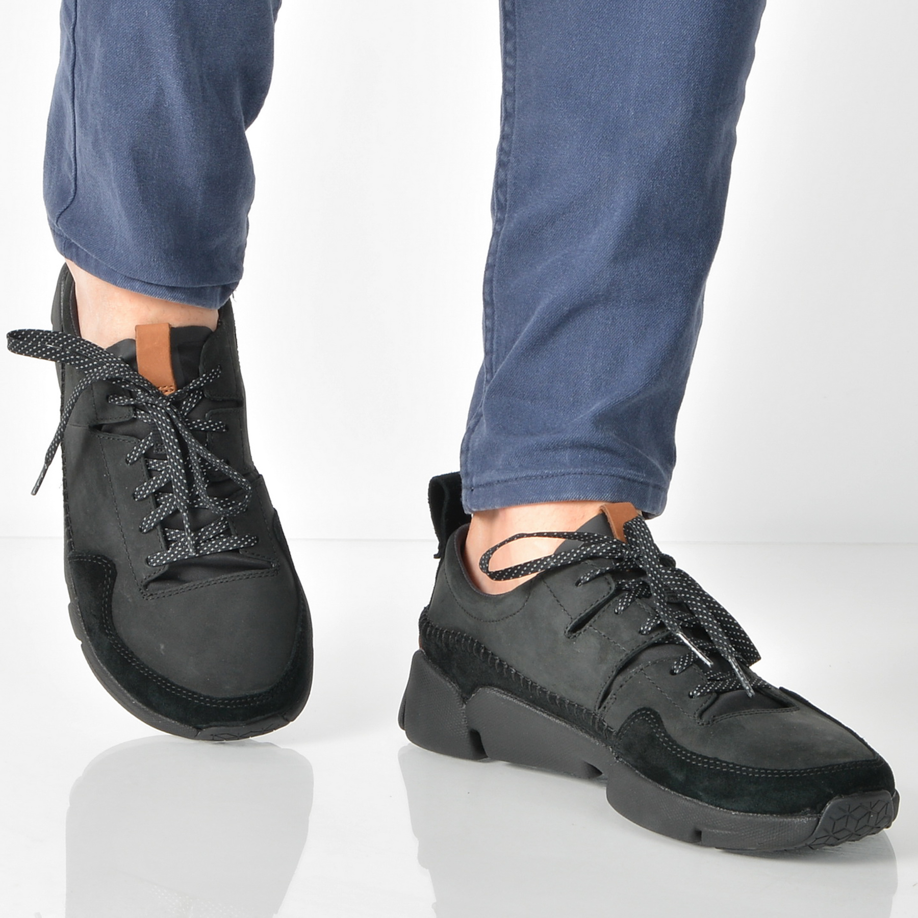 Pantofi Sport Clarks Negri, 6132273, Din Nabuc
