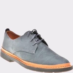 Pantofi CLARKS gri, 6134839, din nabuc