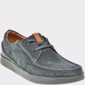 Pantofi CLARKS gri, 6135405, din nabuc