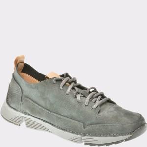 Pantofi CLARKS gri, 6135668, din nabuc