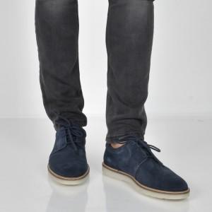 Pantofi CLARKS bleumarin, 6136436, din piele intoarsa