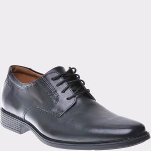 Pantofi CLARKS negri, 6110350, din piele naturala
