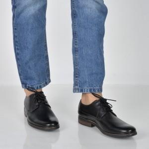 Pantofi CLARKS negri, 6123148, din piele naturala