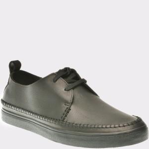Pantofi CLARKS negri, 6133749, din piele naturala