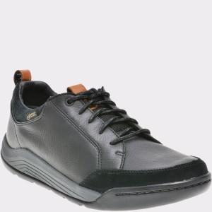 Pantofi CLARKS negri, 6135400, din piele naturala