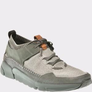 Pantofi sport CLARKS gri, 6135643, din piele naturala